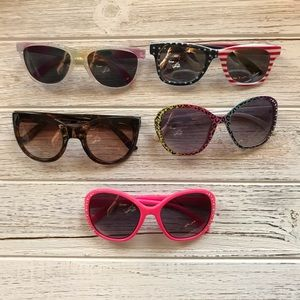 Lot of baby sunglasses
